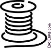 Vector Clipart picture  of a Electric wire