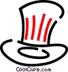 Uncle Sam's hat Vector Clipart picture