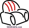 Vector Clipart illustration  of a Living room chair