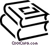Textbooks Vector Clipart picture