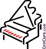 Pianos Vector Clipart graphic