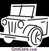 Vector Clipart graphic  of a Light Trucks