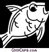 Goldfish Vector Clipart picture