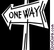 Street Signs Road Signs Vector Clip Art picture