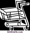 Shopping Carts Vector Clip Art graphic