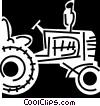 Tractors Vector Clip Art image