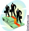 Vector Clip Art graphic  of a Business concept
