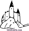 Castles Vector Clipart illustration