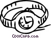 Vector Clip Art picture  of a Wristwatches