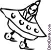 UFO Vector Clip Art picture