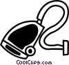 Vector Clip Art graphic  of a Vacuum Cleaners