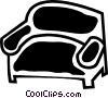 Chairs Vector Clip Art graphic