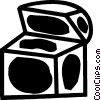 Treasure Chests Vector Clipart image
