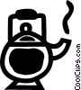teapot Vector Clipart illustration