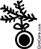Vector Clip Art graphic  of a Ornaments Decorations