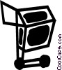 Shopping Carts Vector Clipart picture