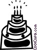 Cakes Vector Clipart illustration
