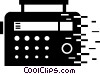 Radios Vector Clipart graphic