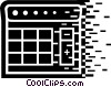 Calculators Vector Clip Art image