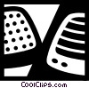 Vector Clipart graphic  of a Speakers