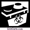 Vector Clipart illustration  of a battery