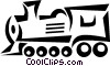 Vector Clip Art image  of a train