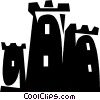 European Buildings Vector Clip Art image
