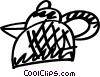 Vector Clip Art image  of a Teapots
