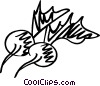 Radishes Vector Clip Art graphic