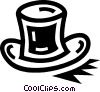 Top Hats Vector Clipart picture