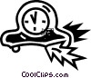 Mantle Clocks Vector Clipart picture