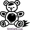 Vector Clipart graphic  of a Teddy Bears