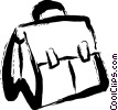 Vector Clip Art graphic  of a Briefcases