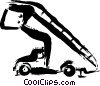 Vector Clip Art image  of a Equipment