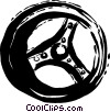 Steering Wheels Vector Clip Art graphic