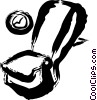 Passenger Compartment Vector Clip Art graphic