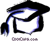 Mortar Boards Vector Clip Art image