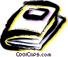 Books and Projects Vector Clip Art picture