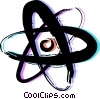 Atoms Vector Clipart graphic