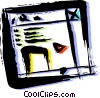 Vector Clipart image  of a Periodicals Newspapers