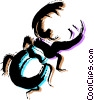 Beetles Vector Clipart picture