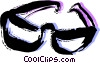 Glasses and Eyeglasses Vector Clip Art graphic