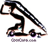 Vector Clip Art graphic  of a Equipment