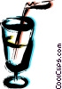 Vector Clip Art graphic  of a Soda and Softdrinks