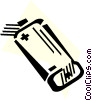 Vector Clipart picture  of a Batteries