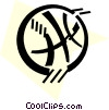 Basketballs Vector Clip Art graphic