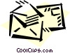 Envelopes Vector Clip Art graphic