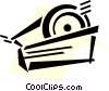Vector Clip Art picture  of an Adhesive Tape