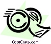 Vector Clipart illustration  of an Adhesive Tape
