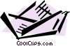 Vector Clipart illustration  of a Paper Boats